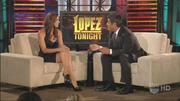Missy Peregrym - Lopez Tonight (2010-07-13)