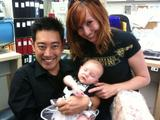 Kari Byron and baby Stella
