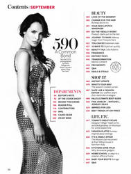 Talisa Soto x2 Instyle (US) September, 2012