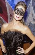 Stacy Keibler - Hosts A Masquerade Party At Hyde Bellagio in Vegas 10/27/12
