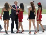 WWE Divas and Donald Trump  6/22/09