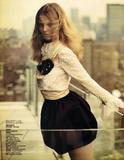 Magazine: Vogue China September 2009 Editorial: Light as Day Model: Magdalena Frackwiak Photographer: Sebastian Kim.