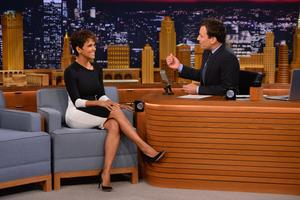 Halle Berry The Tonight Show Starring Jimmy Fallon 07-08-2014